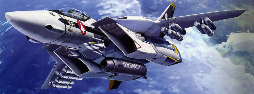 Macross fighter facebook cover