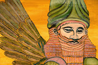 Babylon Sumerian Anunnaki Flying Gods2