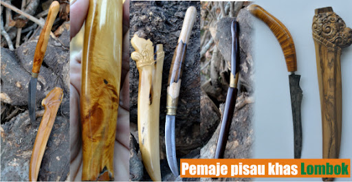 pemaje pisau khas lombok - barang antik peninggalan nenek moyang sebagai warisan budaya