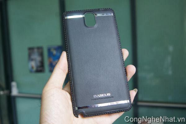 Nắp lưng da cho SamSung Galaxy Note 3 (SC-01F)