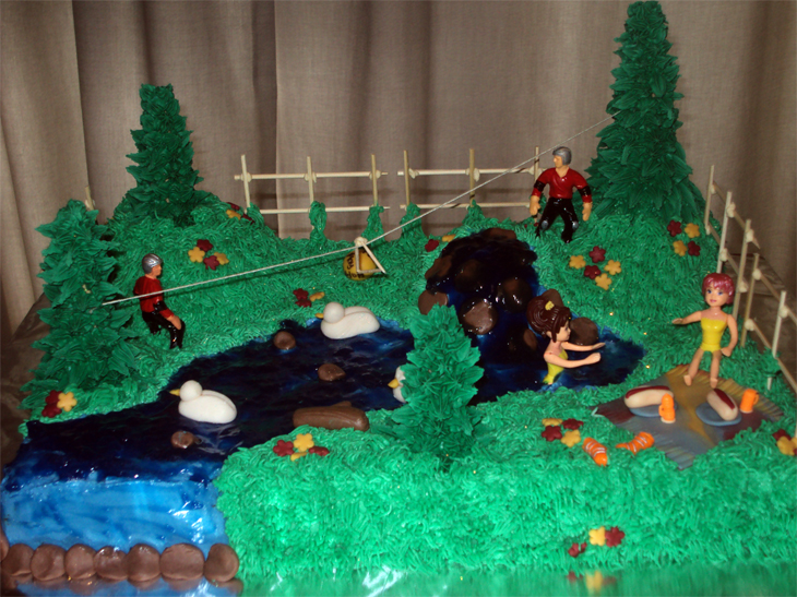 Delanas Cakes Outdoor Adventure Cake
