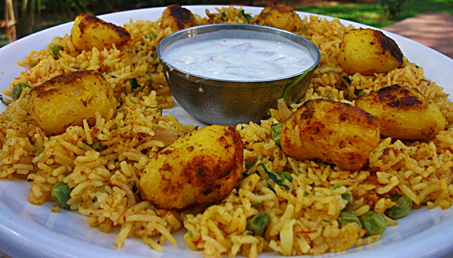 Baby Potato Biriyani