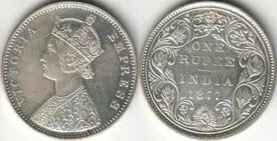 rare coins british india