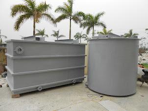 Bồn composite xử lý nước thải công nghiệp