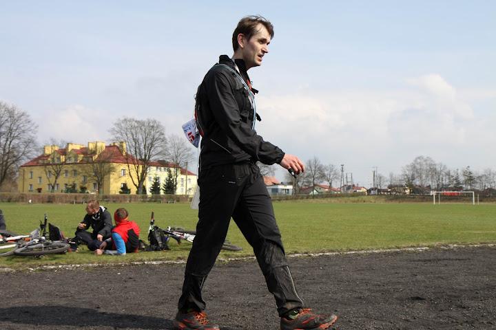 Michal Szczesny na mecie Harpagan 43