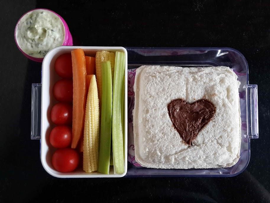 #449 - Nutella Sandwich Lunch