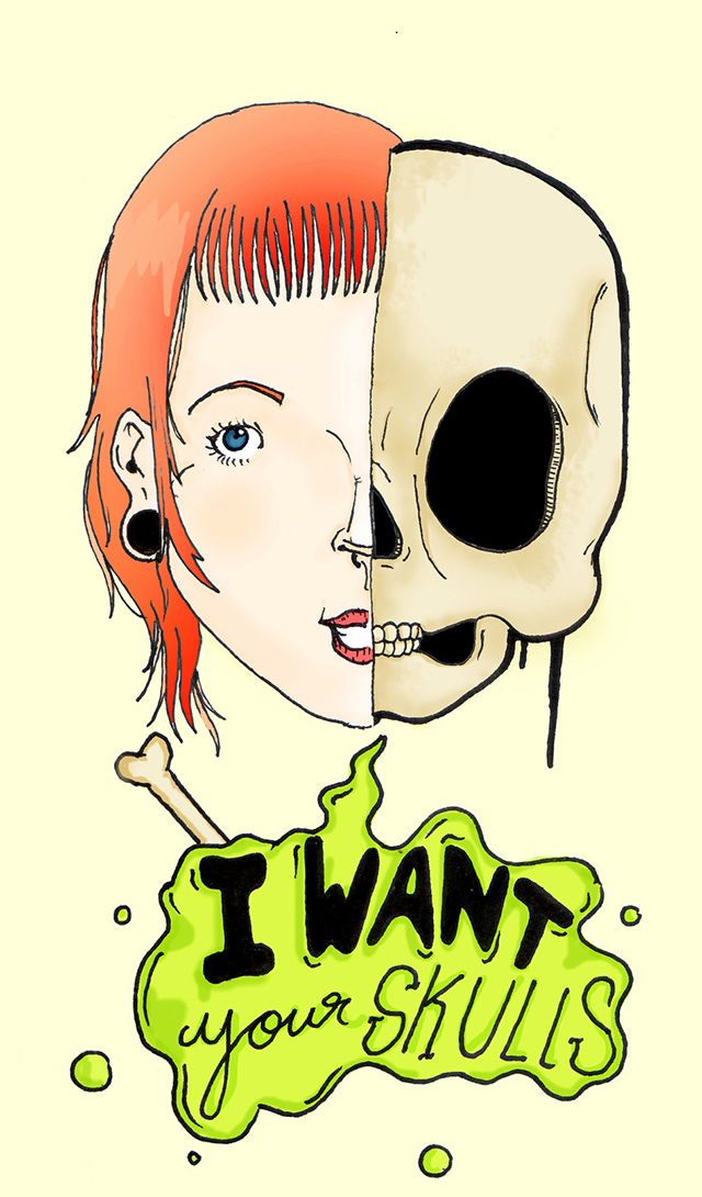 I Want Your Skulls, de Gabriel Canazzi
