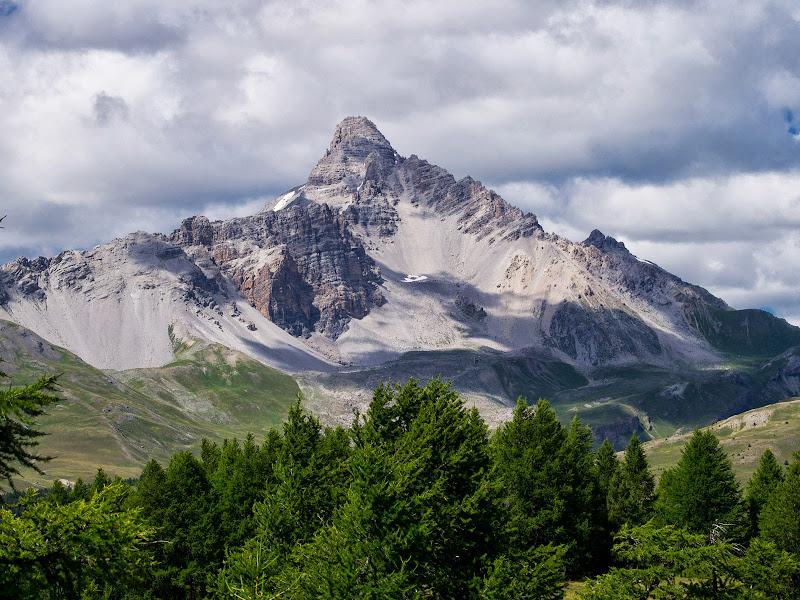 Rochebrune, cara sud