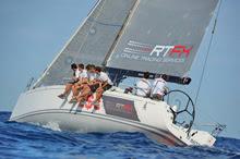 J/122 Artie RTFX sailing Rolex Middle Sea Race
