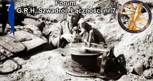 FORUM GRH SZWADRONU ŁĄCZNOŚCI NR 7