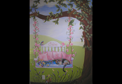 Painting for a sweet girl named Chloe who loves nature.
