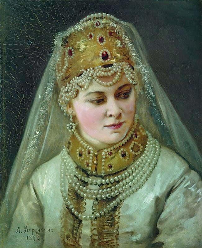 Alexey Korzukhin - Bojar Woman