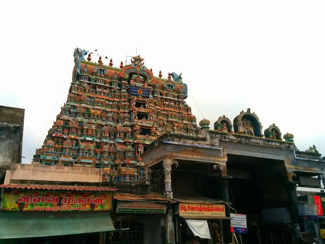 Nellaiappar Temple gopuram