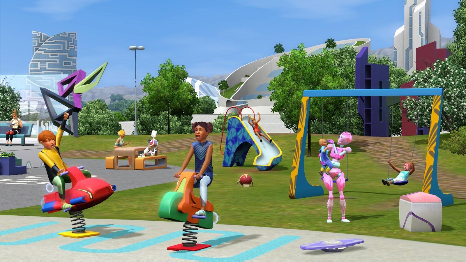 De Sims 3 Vooruit in de Tijd screen