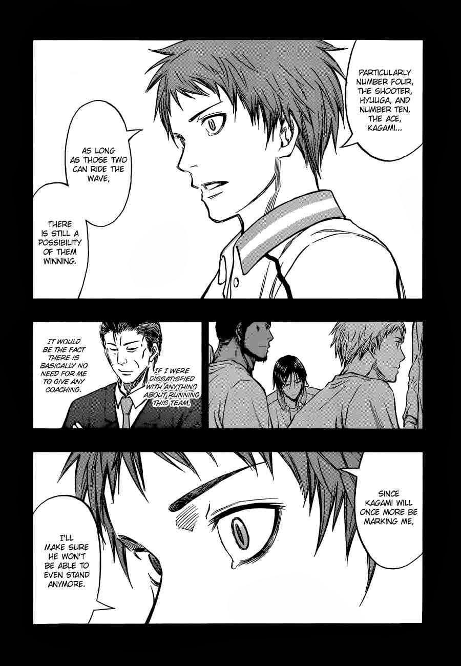 Kuroko no Basket Manga Chapter 246 - Image 16