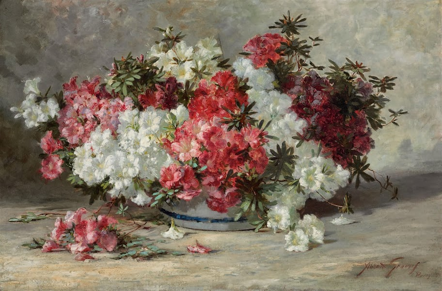 Abbott Fuller Graves - Azaleas