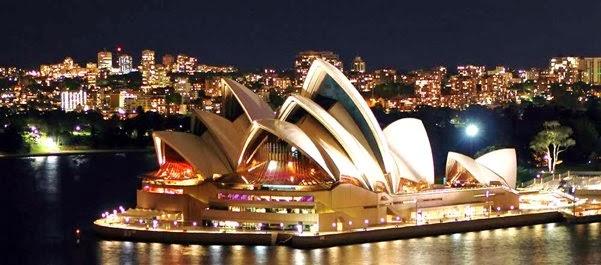 Ópera de Sydney - Sydney  - Nova Gales do Sul