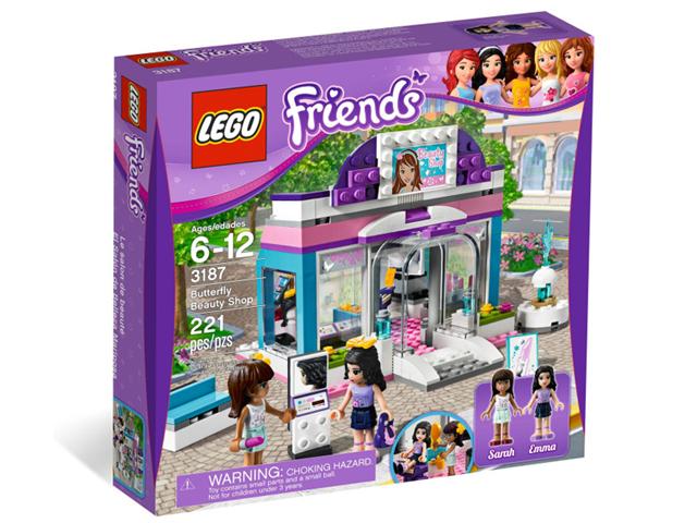レゴ フレンズ ビューティーサロン 3187