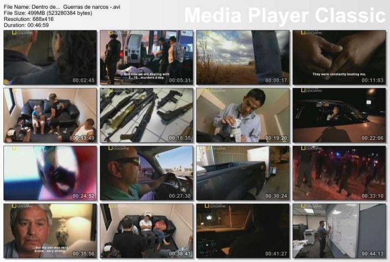 Dentro De... Guerra De Narcos [Documental][DvdRip