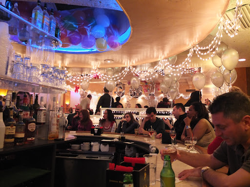 大晦日のタイムズスクエア内のレストラン