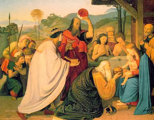 Johann Friedrich Overbeck - Adoration by the magi