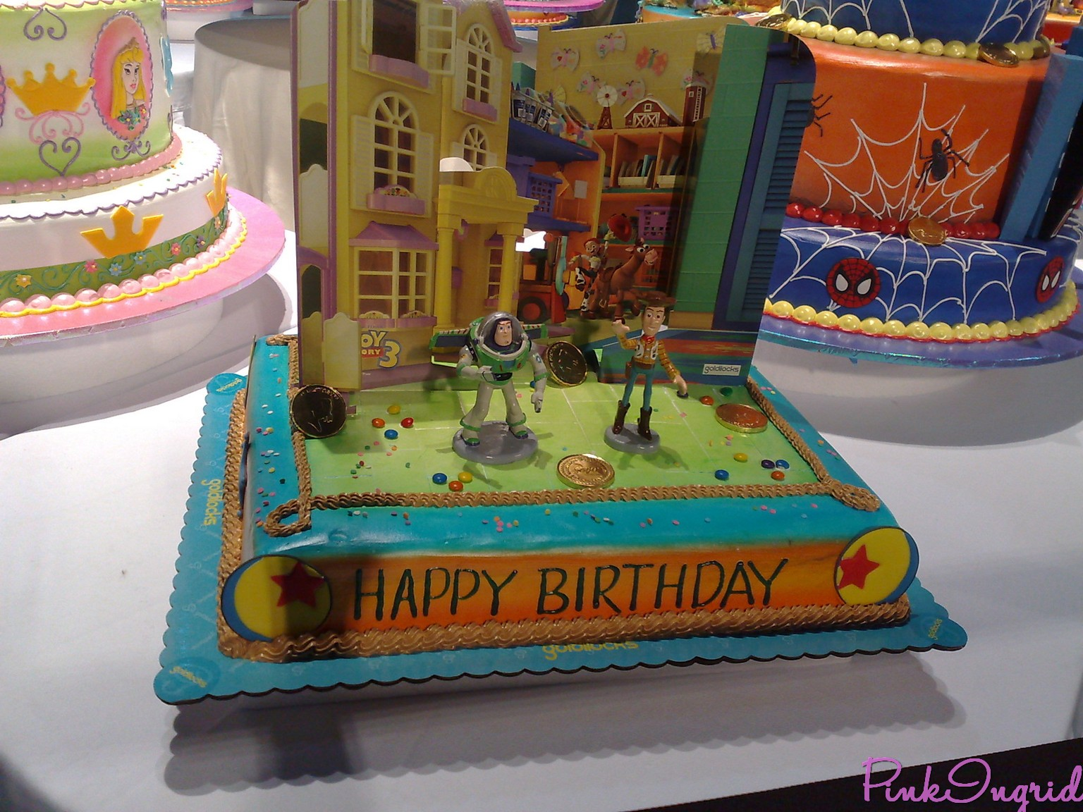 Goldilocks Cake Design For Debut : 1536px