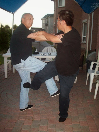 Master Kiet Pham and Master Buddy Wu Doing Chi Gerk