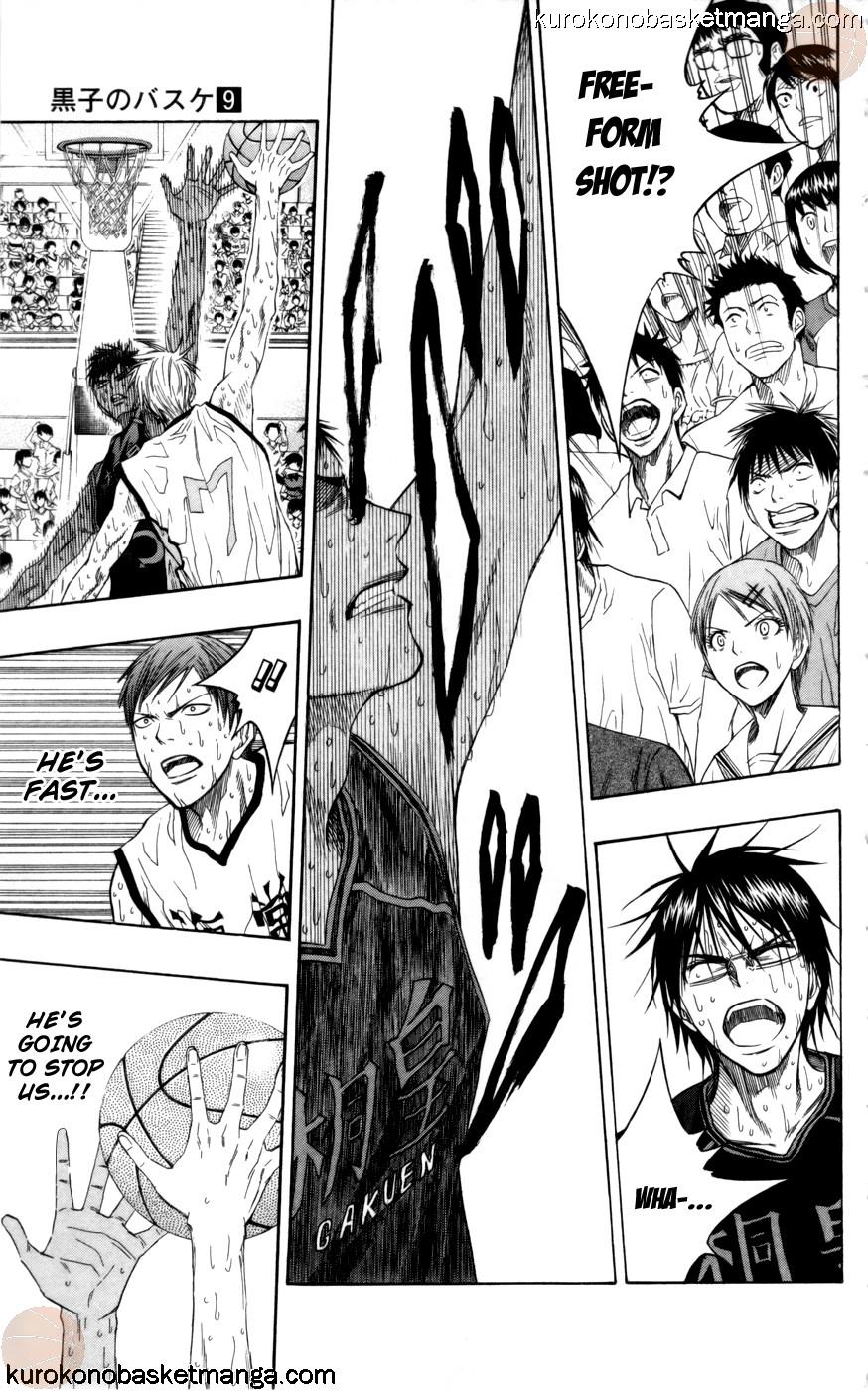 Kuroko no Basket Manga Chapter 72 - Image 05