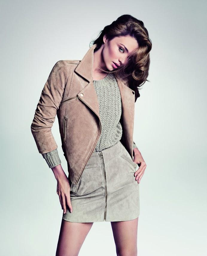 *Miranda Kerr輕鬆取代Kate Moss:詮釋2013春夏MANGO 3
