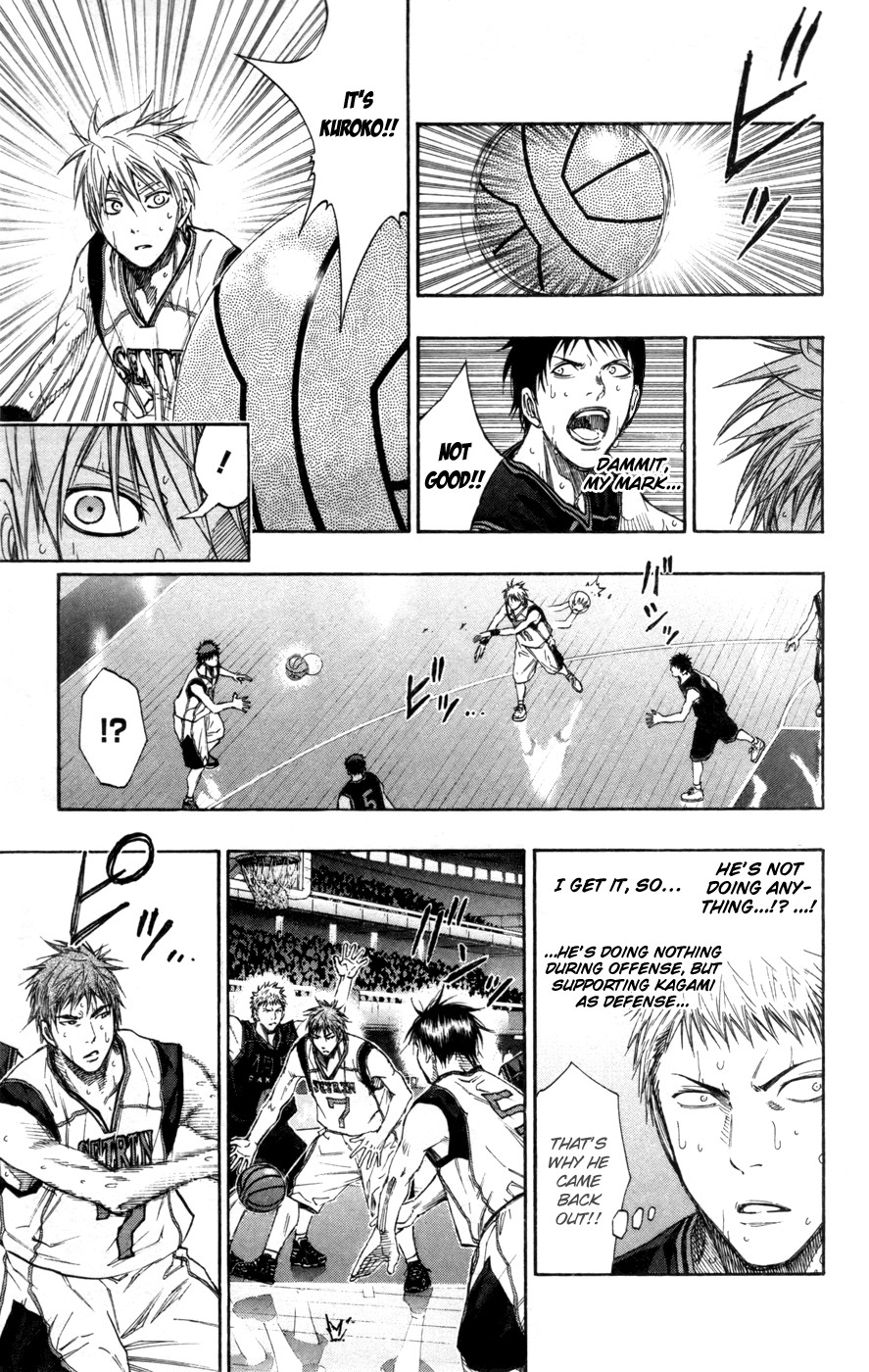Kuroko no Basket Manga Chapter 125 - Image 11