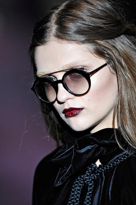 59b936cdb25 Milan Fashion Week  Gucci Fashion Eyewear Fall   Winter 2012-2013 ...