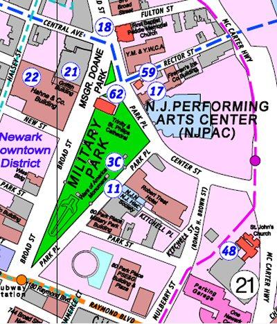 NJPAC Police Station Mural Newark USA