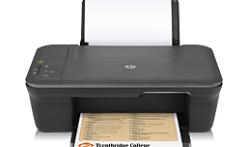Down HP Deskjet 1051A lazer printer driver software