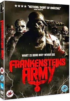 Filme Poster Frankenstein's Army WEBRip XviD & RMVB Legendado