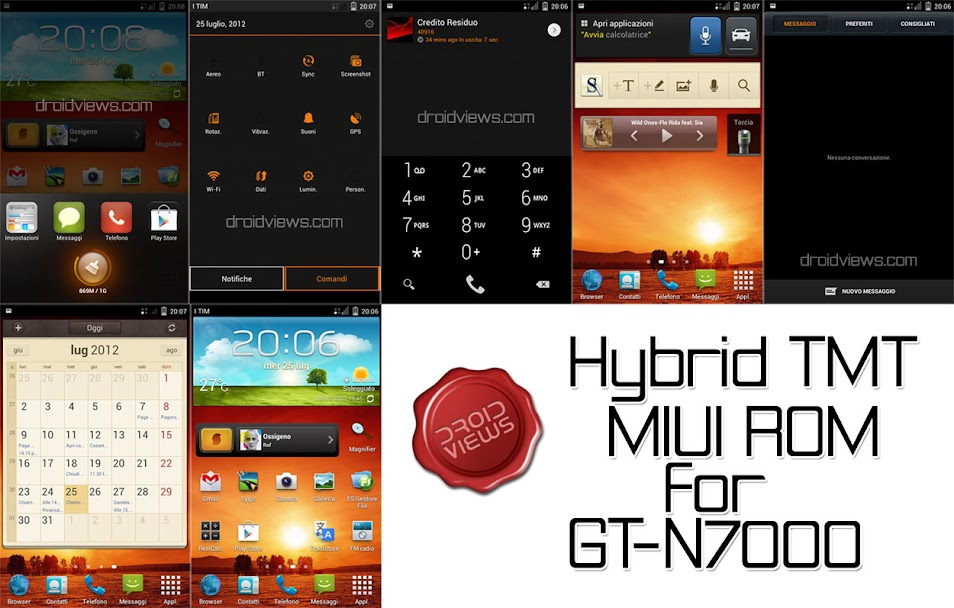 Best Custom ROMS for Samsung Galaxy Note GT-N7000 | DroidViews