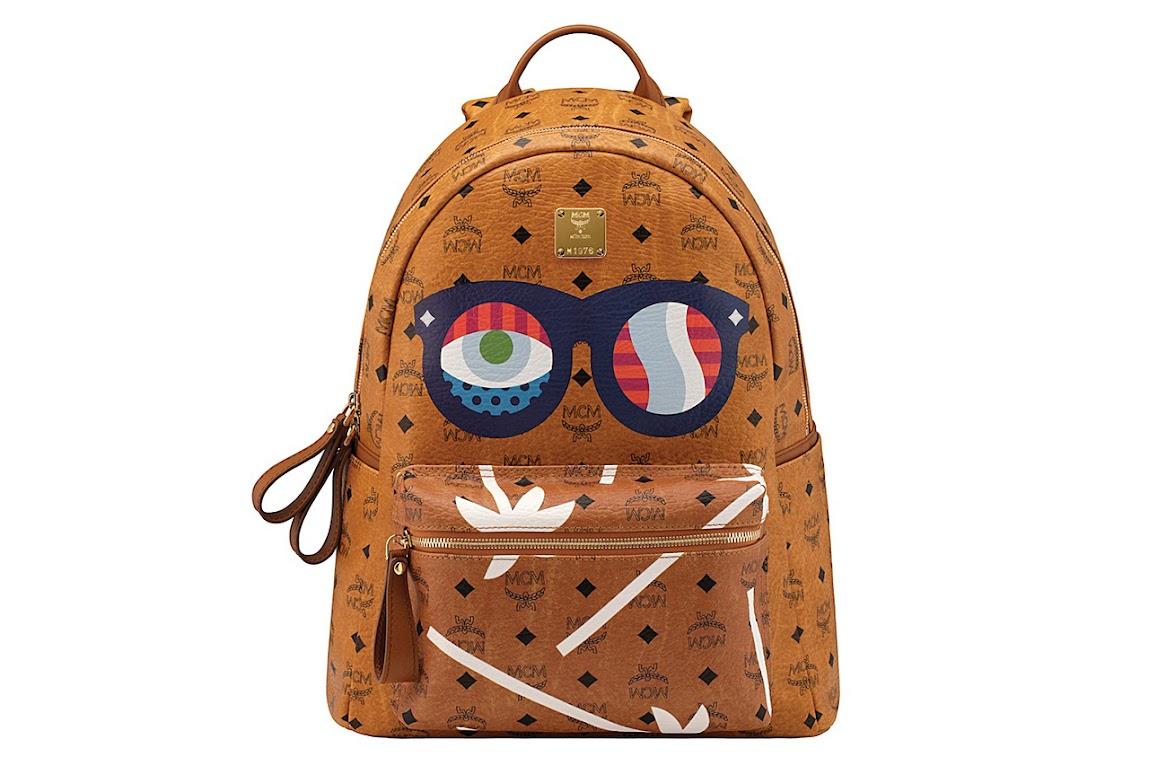 *普普眼鏡撞色包:藝術家Craig & Karl x MCM 2013春夏系列! 2