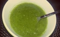Soupe de poireaux au tapioca