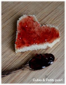Recettes en forme de coeur pour la Saint Valentin de bébé