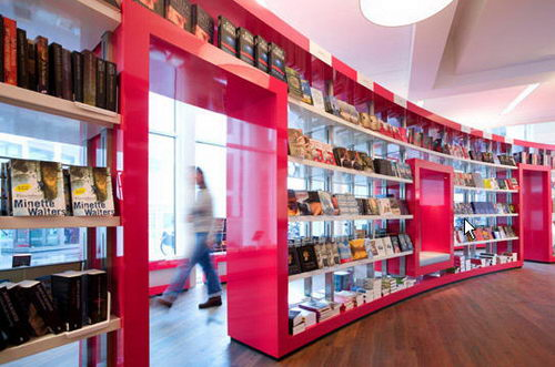 Paagman the Contemporist Bookstore Design