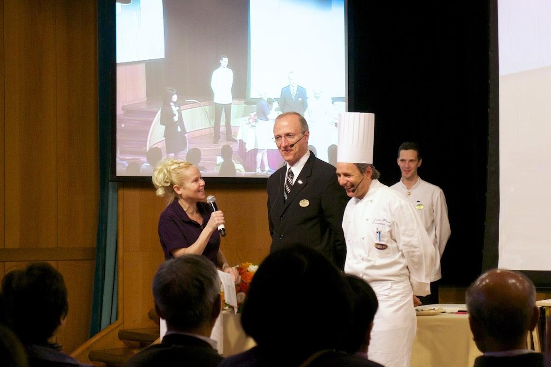 総料理長カルロ氏とレストラン総支配人ジェネローソ