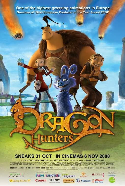 Poster Of Dragon Hunters (2008) Full Movie Hindi Dubbed Free Download Watch Online At Alldownloads4u.Com