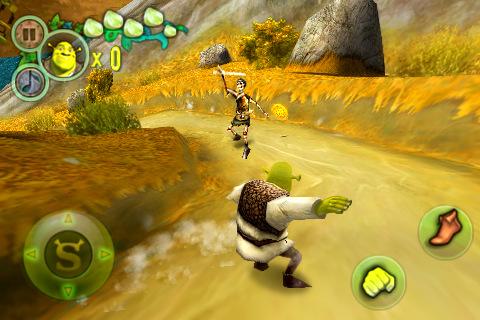 Shrek Forever After game for iphone