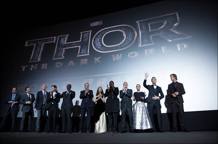 The Thor: The Dark World Cast at the London Premiere #ThorDarkWorldEvent