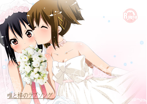 yui and azusa's love song cover by らぐほのえりか