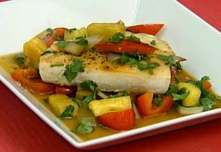 Ξιφίας με Πατάτες στο Φούρνο,Swordfish with mashed potatoes.