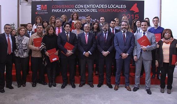 La Comunidad de Madrid cuenta con más de 330.000 voluntarios