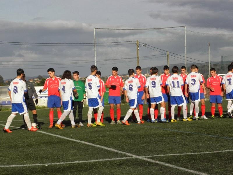Instante partido de liga Numancia - Cariño en Prados Vellos (16/11/2013)