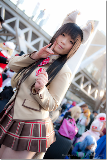 unknown cosplay 92 - japan winter comiket 2010 / kanokon cosplay - minamoto chizuru