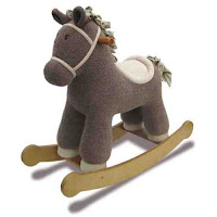 lovely little rocking horse on bambino direct