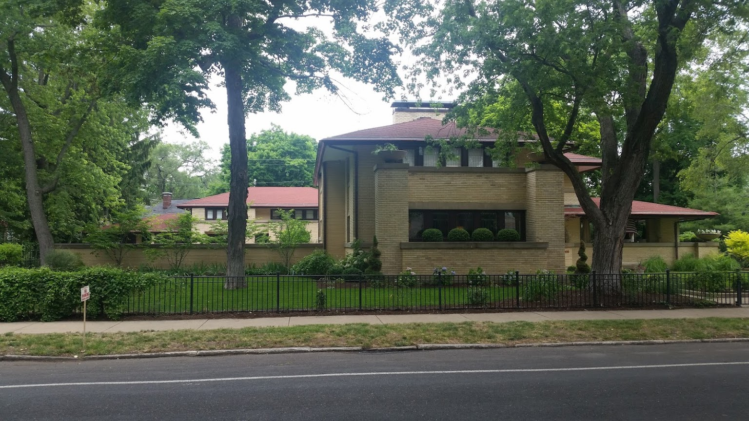 Frank Lloyd Wright - Moss Avenue - Peoria IL - Lawless Hardware
